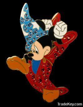 Disney pin , enamel pin , irregular pin, polished pin