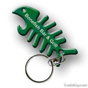 keyring , bottle opener keychian , single keyhold