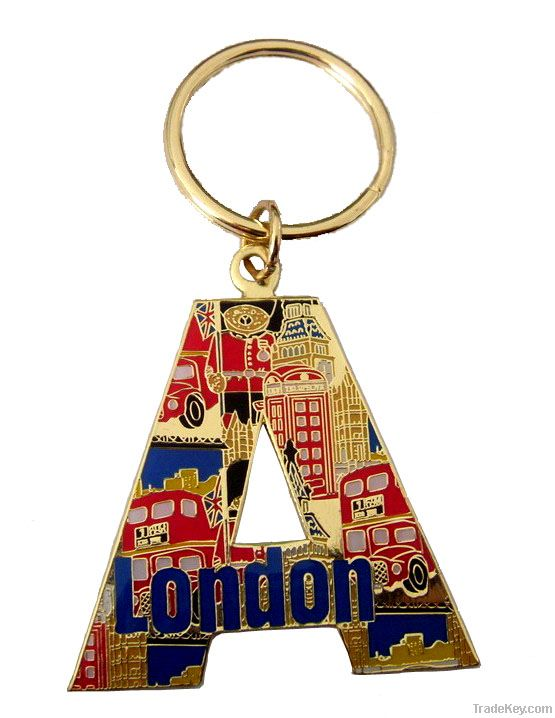 key chain featured high-heel shoe, key ring , fashion key chain