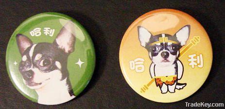 tin badge button badge pin badge