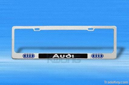 aluminum car license, car name plate, car badge