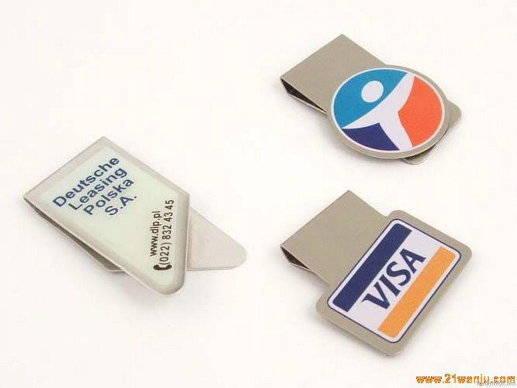 stainless steel money clip, metal money clip
