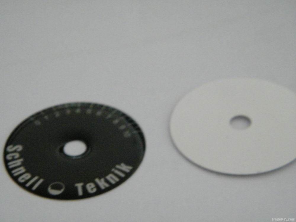 Metal label, Furniture label, Metal logo, Metal plate