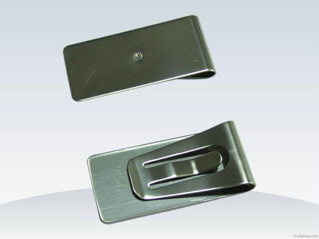 stainless steel money clip, custom metal money clip