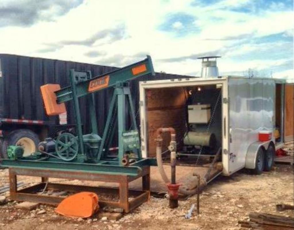 Oil well steam generator for enhanced oil recovery