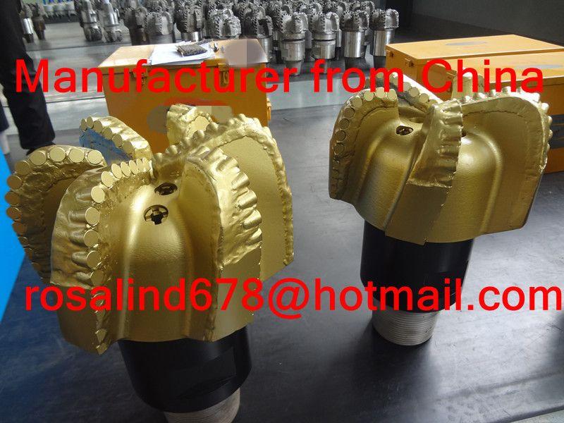 China PDC bits manufacturer matrix body diamond PDC bits steel body pdc bits