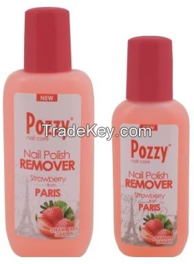 Pozzy nail varnish polish removers