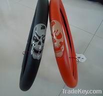 Skull pvc steering wheel cover in universal