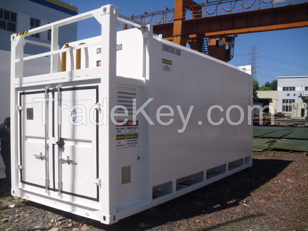 ITP series bunded fuel storage tank double walled tank container By