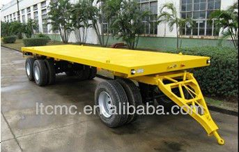 Full flatbed Trailer for industrial use