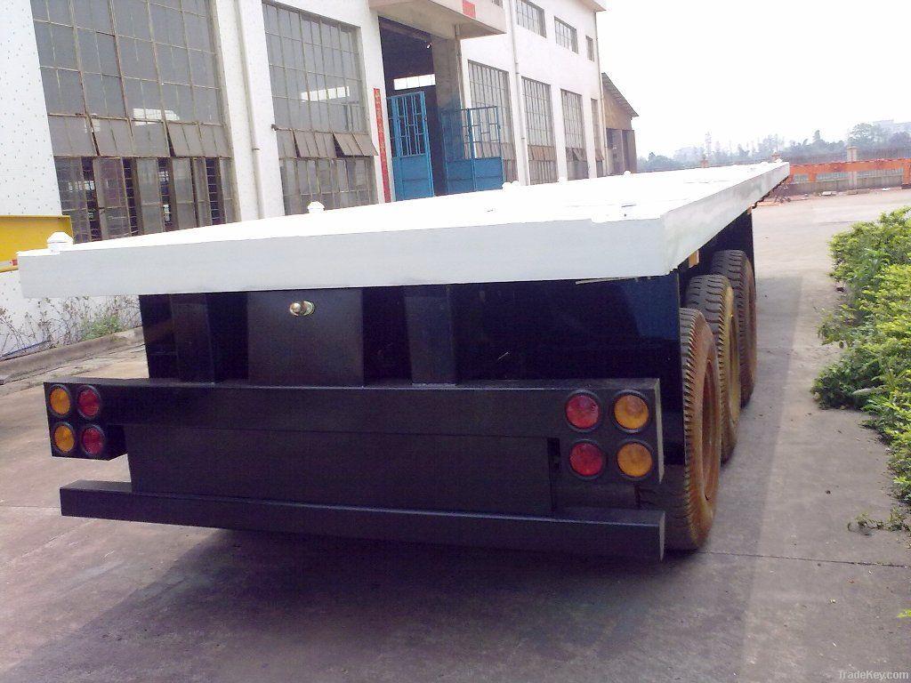 container platform semi trailer