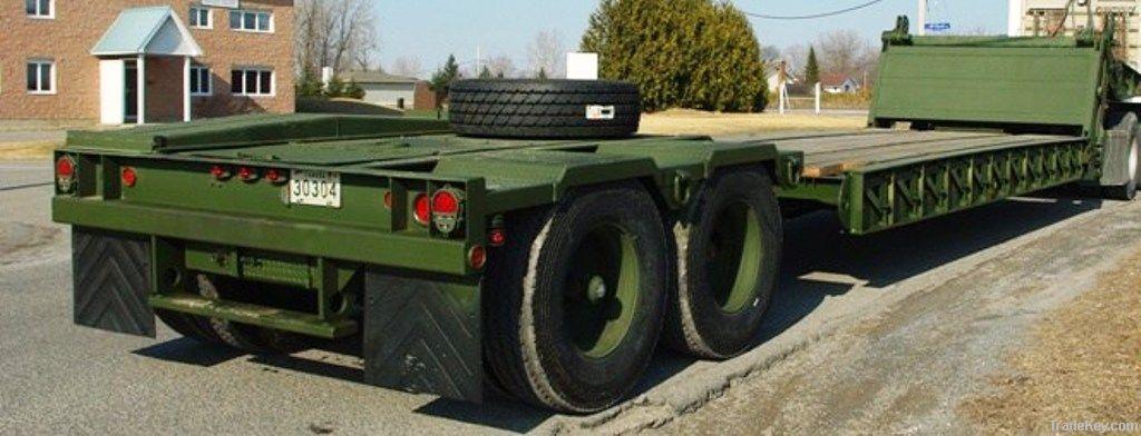 gooseneck semi trailer for industrial use