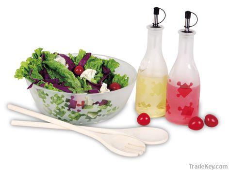 5 pcs Glass Salad Making set