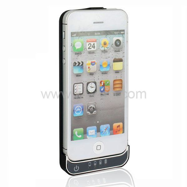 2200mAh Lightning 8 Pin Extant Battery Power Bank for iPhone 5 / iPod