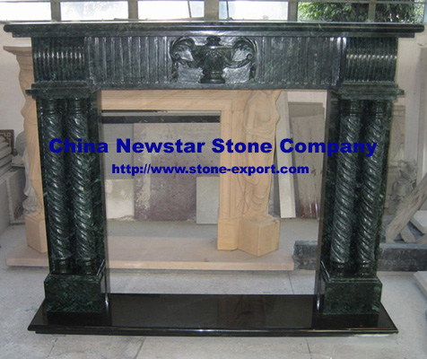 Sell Fireplaces frabicated by granite and marble