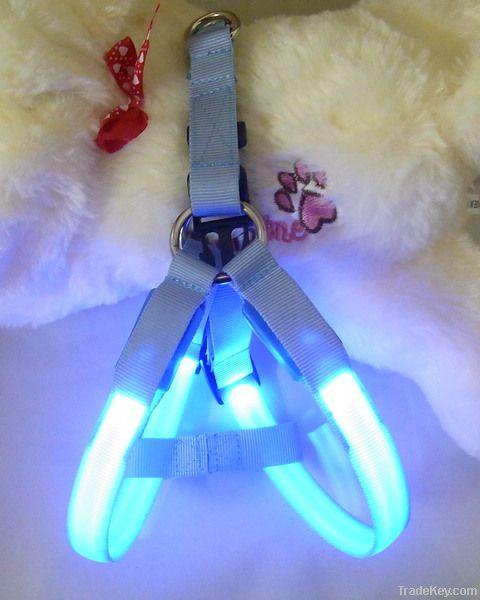 Led pet harness