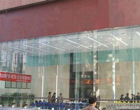 Curtain wall glass