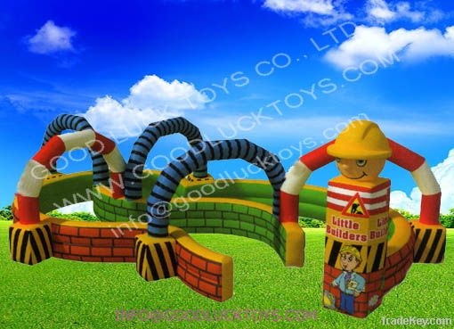 Go cart racing track