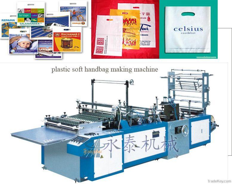 Plastic Soft Handbag Making Machine