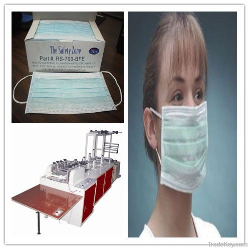 medical disposable non woven  face mask making machine