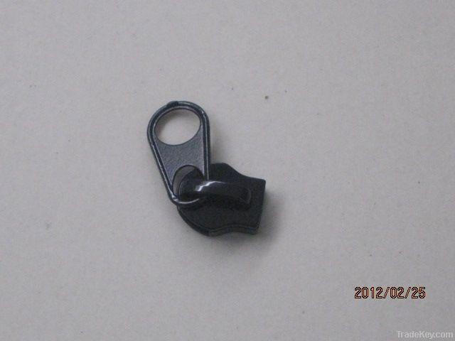 8#black slider zipper slider zipper puller