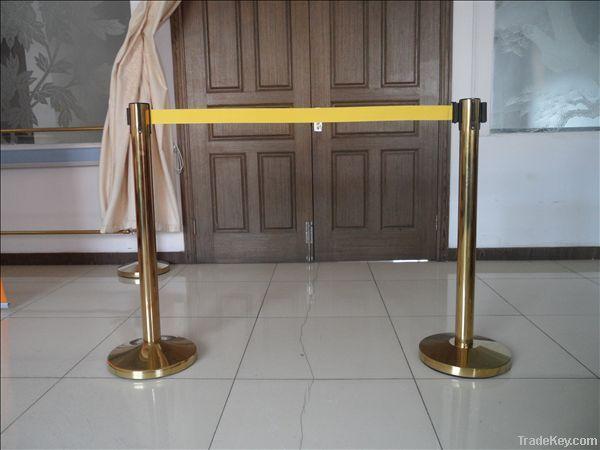 2m any color retractable  belt queue barrier