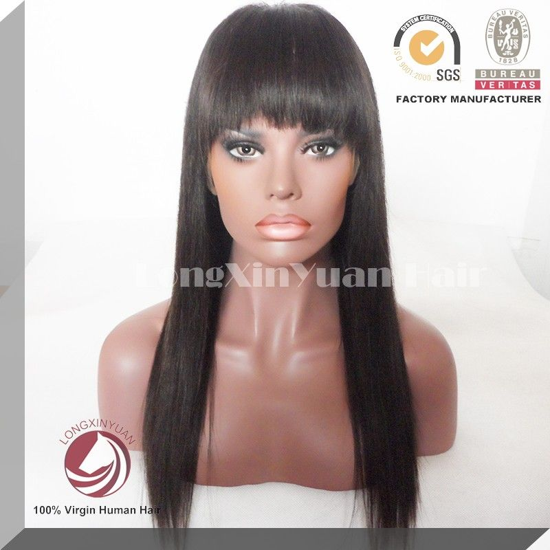 Wholesale Brazilian Human Hair High Density Lace Front Wig in Stock