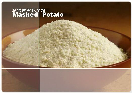 Mashed Potato  (Potato flakes / Potato granules/ Instant Potato )