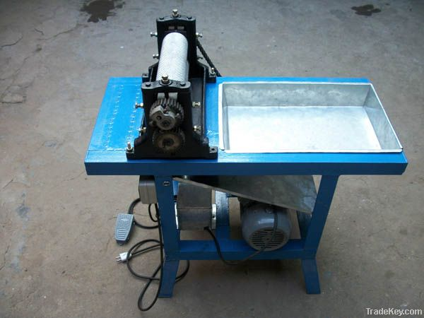Electrical Beeswax foundation machine, bee wax foundation roller
