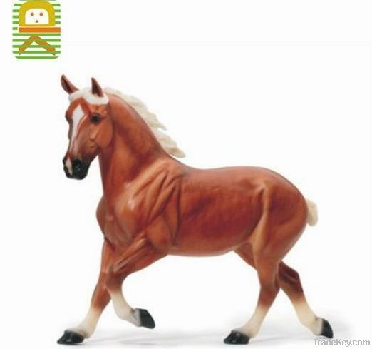 plastic horse figures toys for home decoration, OEM horse figures