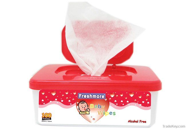 80pcs Baby Wet Wipes / Cheap Baby Wipes / Baby Tissue / Soft Baby Wipes