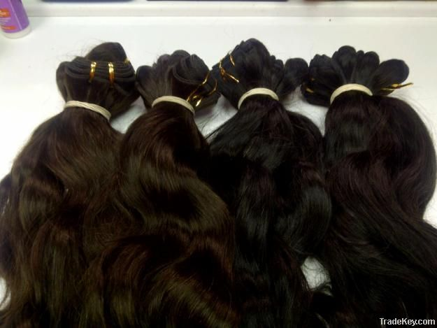 Brazilian human hair 100% virgin