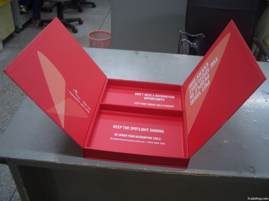 Video packaging box