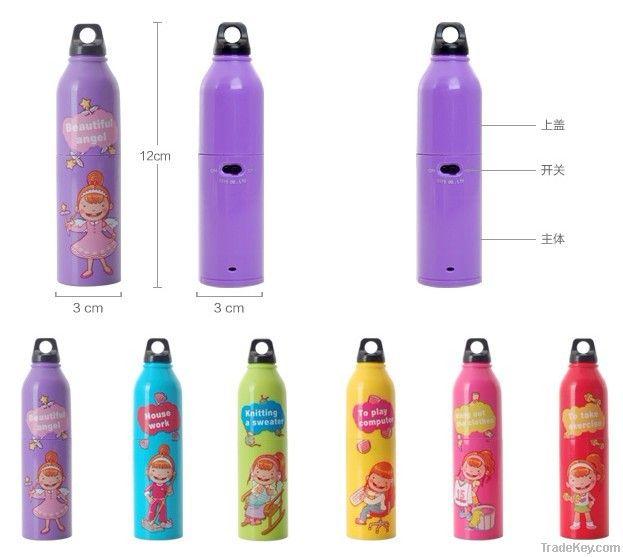 Art Bottle Gift Mini Fan Creative Battery Operated Gift Bottle Series