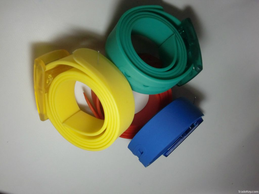 Silicone belts with eco-friendly material