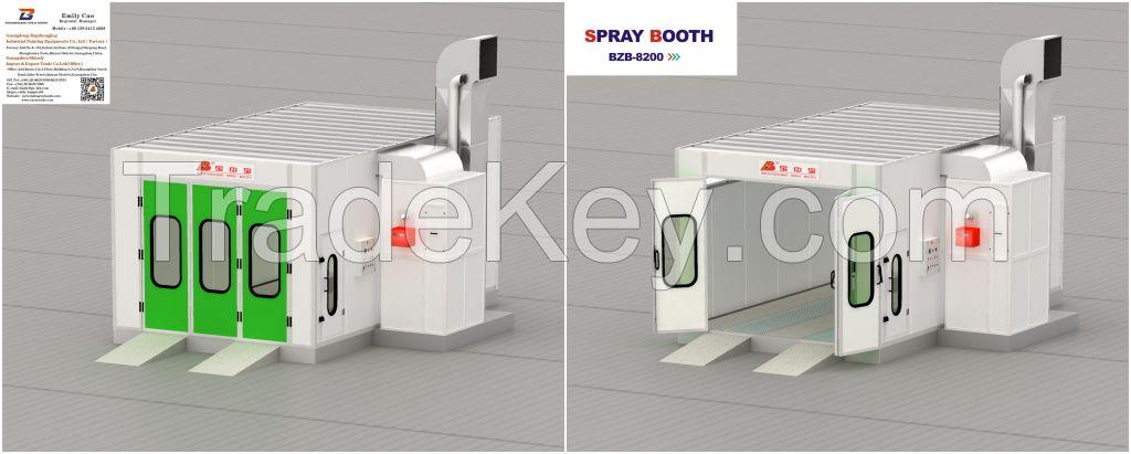 BZB-8200 Spray Booth