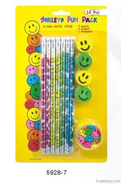 10pcs HB pencil w/eraser