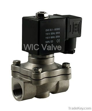WIC 2SCW Series 2 Way Normally Closed Stainless Steel Valve