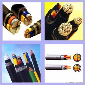 copper or aluminium XLPE Insulated Power Cable YJLV22 0.6/1KV