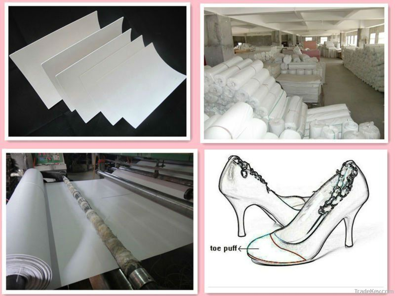 toe puff chemical sheet inner lining for shoes making