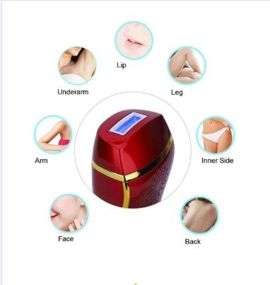 Laser  IPL hair removal homeuse portable permanent beauty care
