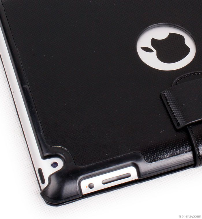 iPad 2 Top Leather Flap Case