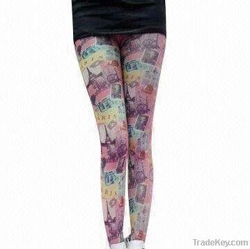 Ladies' Leggings with Printing