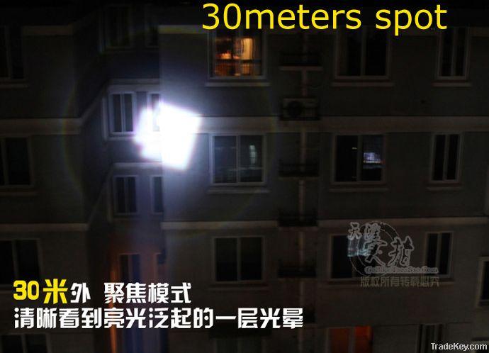 High intensity flashing light
