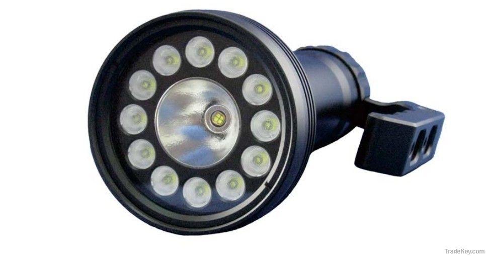 LED flashlight- Diving photography lamp