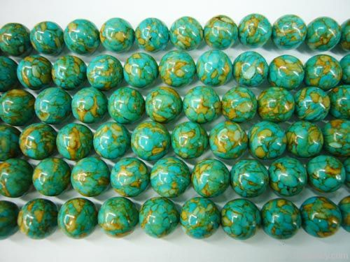 Nature turquoise beads strands