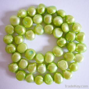 Freshwater pearl beads and strands