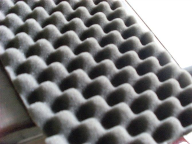 China factory egg crate foam, wave shape foam, PU sponge, sound absorbent sponge, sample free