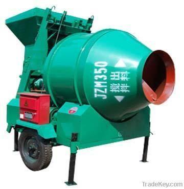 JZM 350 elctric portable mini concrete mixer machine with lift