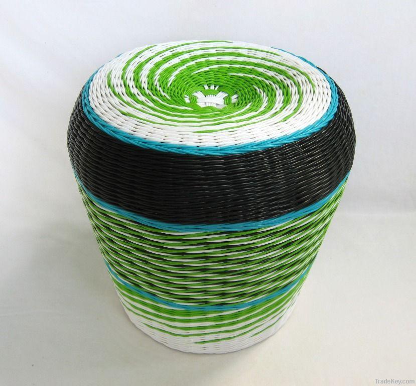 PE Target Woven Stool